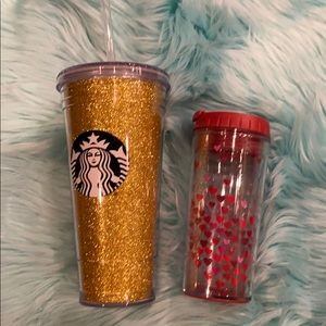 Starbucks drink containers